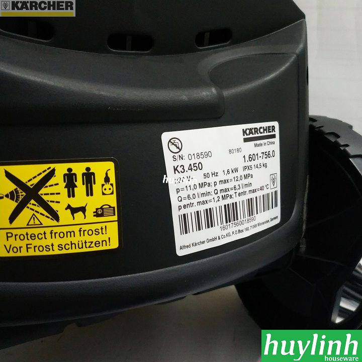 may xit rua xe karcher k3 450 thong so ky thuat
