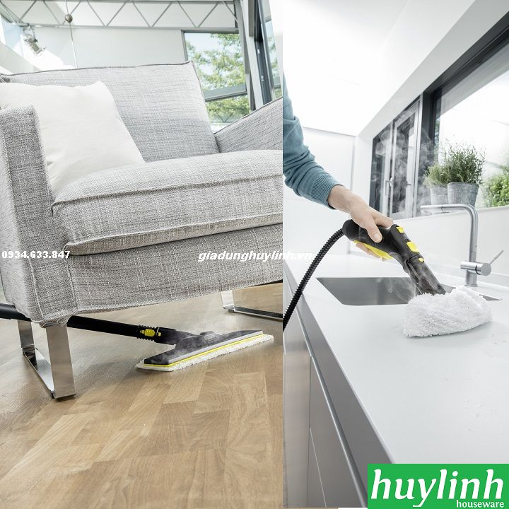 may ve sinh karcher sc3 easyfix