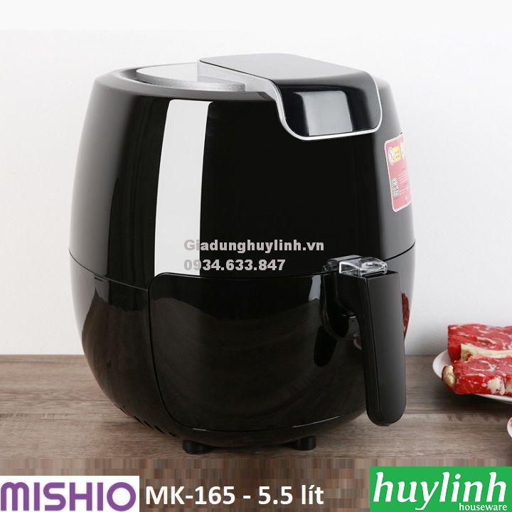 Nồi chiên không dầu Mishio MK-165 - 5.5 lít