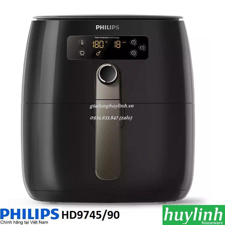Nồi chiên không dầu Philips HD9745 / 90