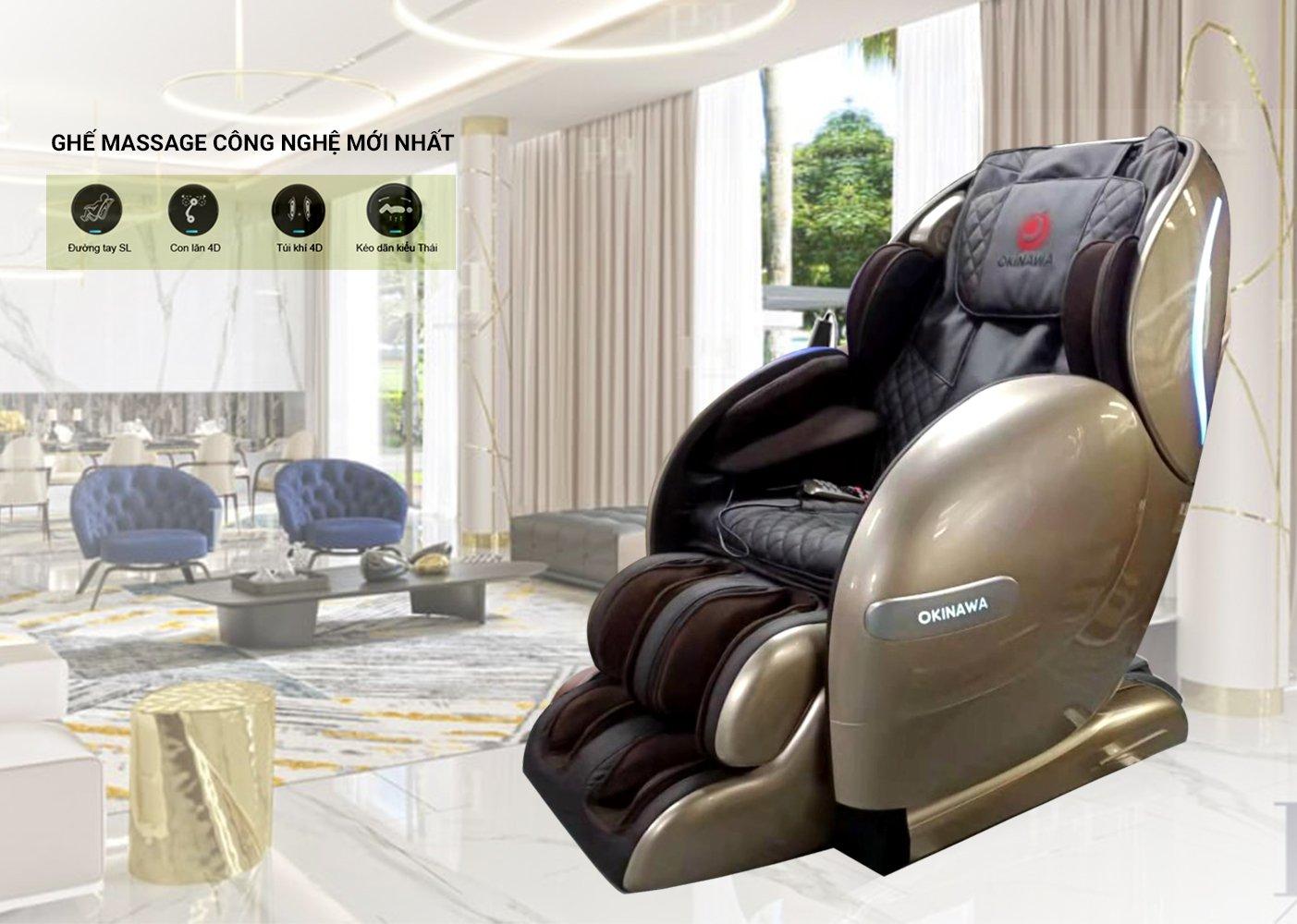 Ghế Massage OKINAWA OS 9500