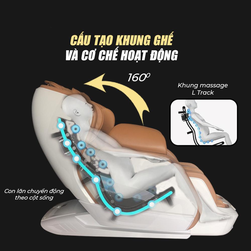 Ghế Masage Luxury Massage Chair JS 501