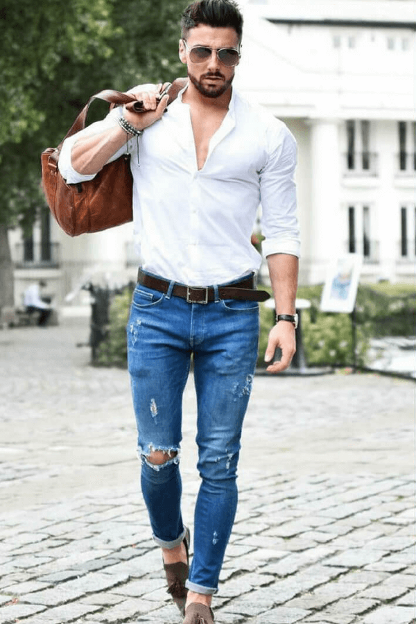 Bí quyết phối quần jeans nam mà bạn cần biết