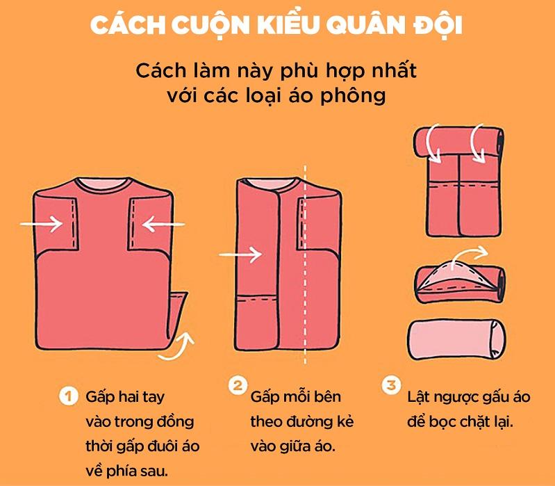 Cách xếp quần áo vào vali không bị nhăn CHUẨN – ĐẸP