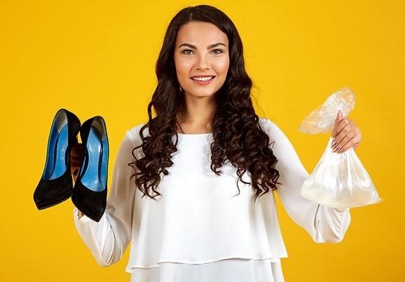 giảm đau chân khi đi giày mới