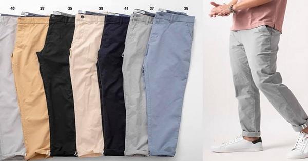 Mách bạn bí quyết giúp giặt quần kaki không phai màu đơn giản