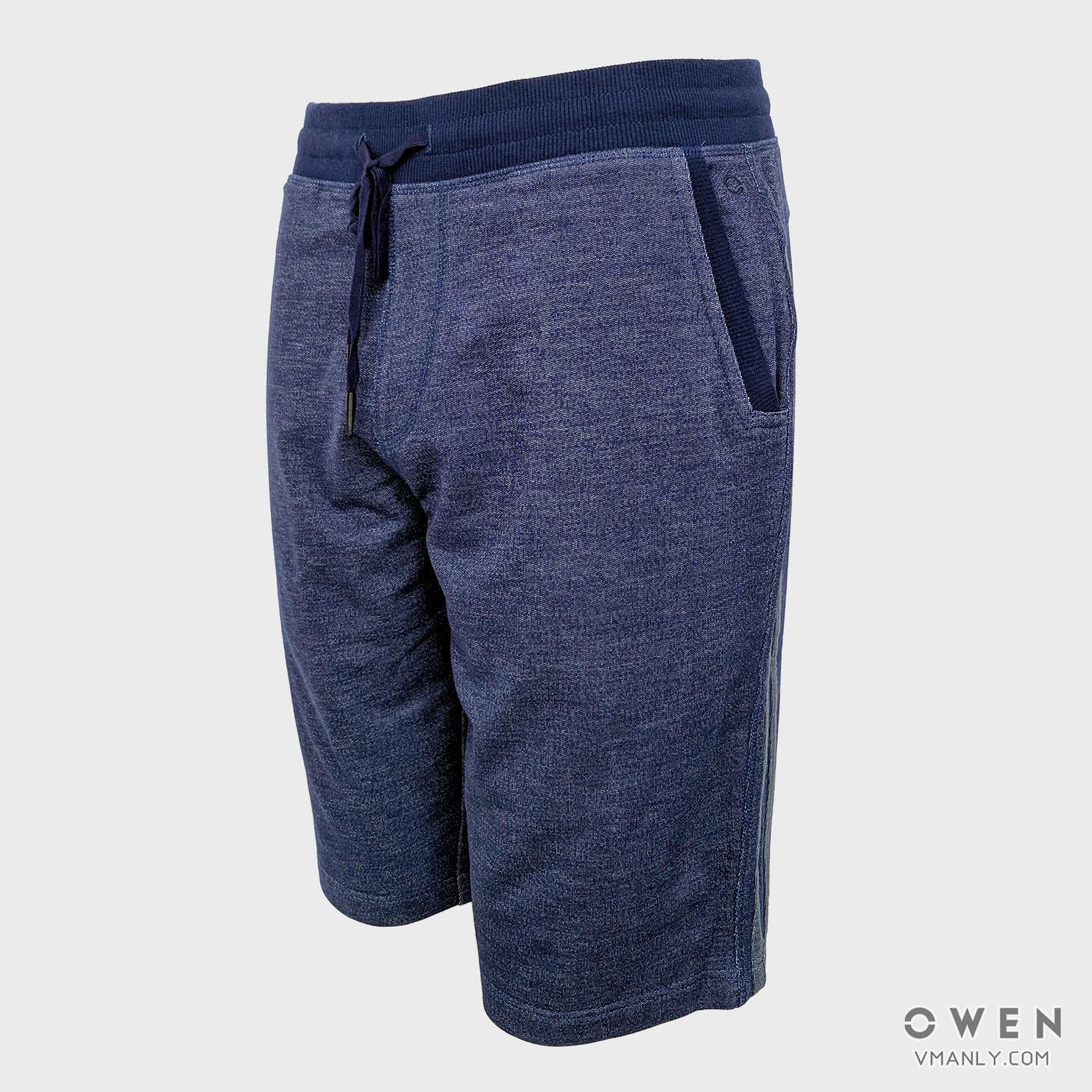 Quần short nam Owen màu xanh navy SKN18310-NA