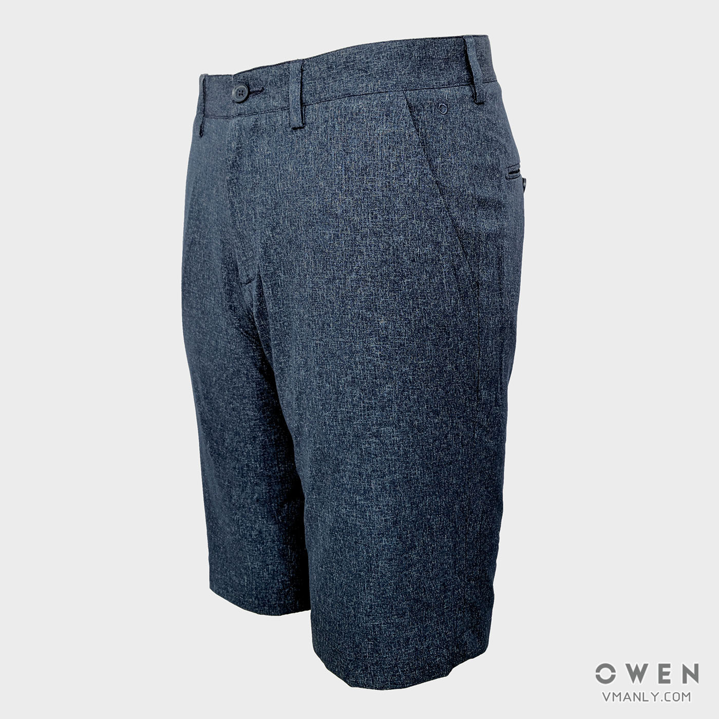 Quần short nam Owen màu xanh navy SV91237