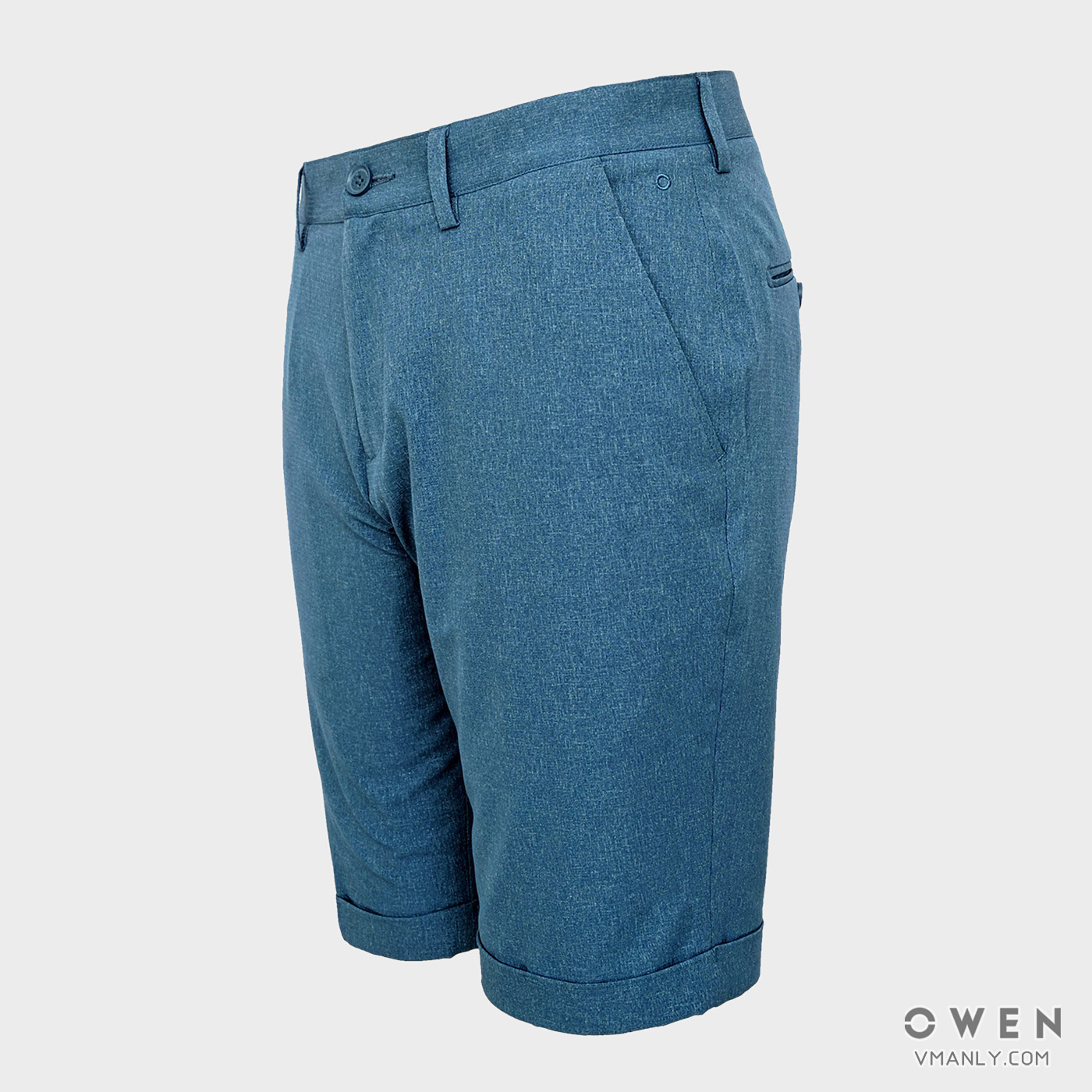 Quần short nam Owen màu xanh nhạt SV91239