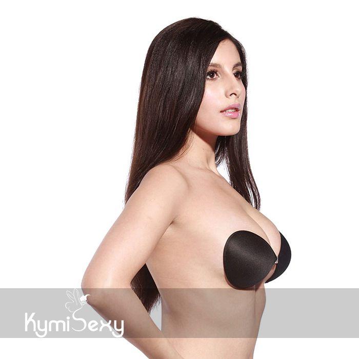 Áo dán ngực tạo khe khóa cài trước