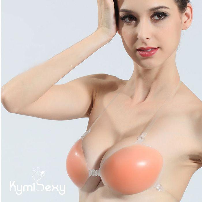 Áo lót dán nâng ngực tạo khe Silicon