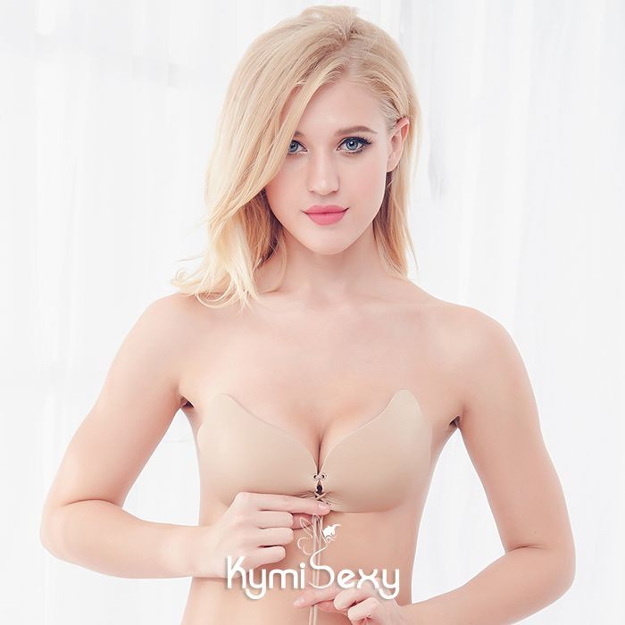Áo dán nâng ngực có dây rút quyến rũ