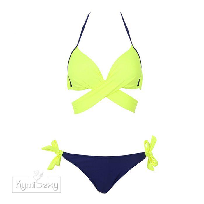 Bộ đồ bơi 2 mảnh dây đắp chéo ngực