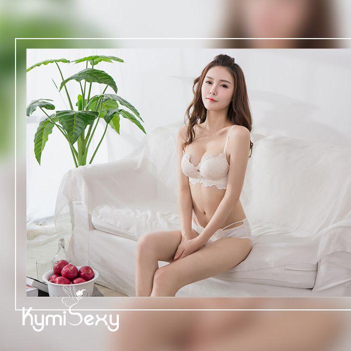 Bộ đồ lót nữ cúp ngực ren hoa