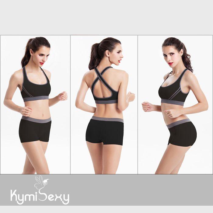 Bộ đồ nữ quần ngắn tập gym dây chéo lưng