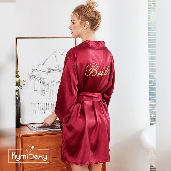 Áo choàng nữ phi lụa Bride