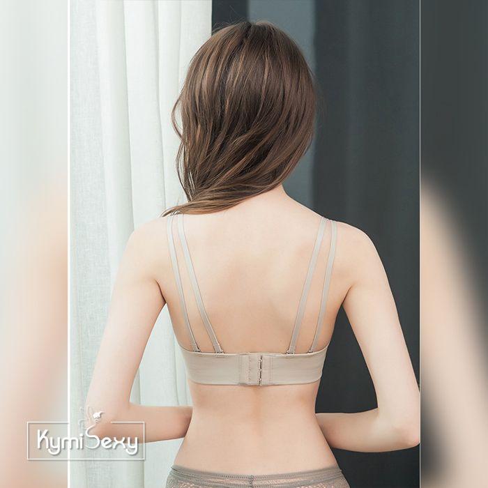 Áo lót Bra nâng ngực dây chéo lưng đôi