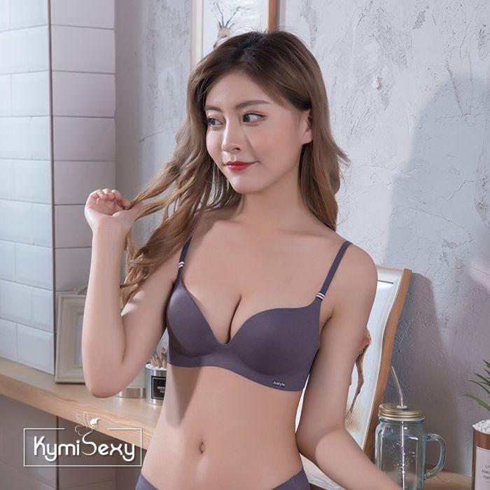 Áo ngực cổ chữ V tạo khe