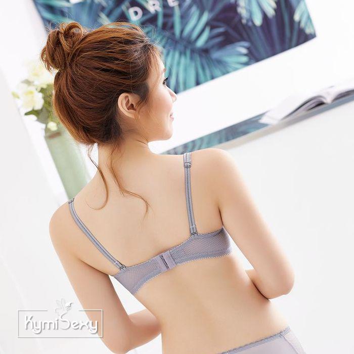 Áo ngực ren cổ chữ V