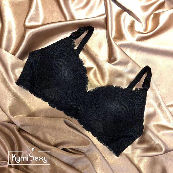Áo ngực ren nâng  cổ chữ V