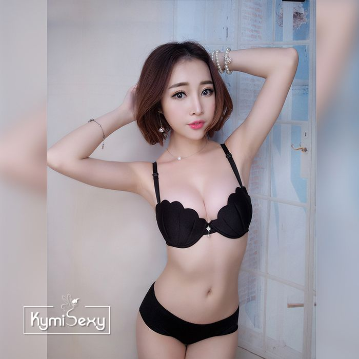 Bộ đồ lót áo ngực su sò nâng ngực