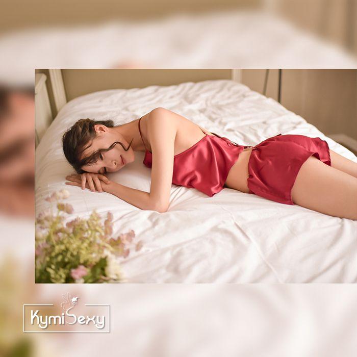 Bộ đồ ngủ quần ngắn áo kiểu yếm