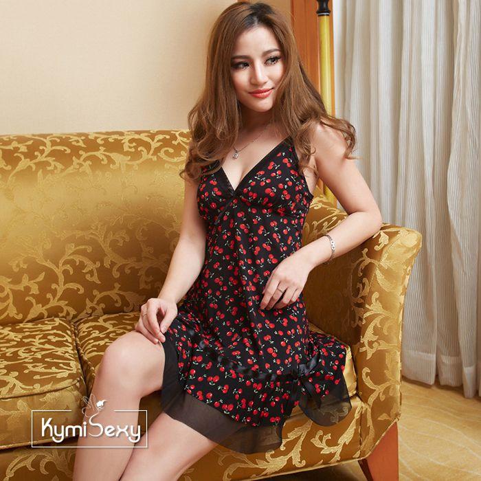 Đầm thun nữ Cherry