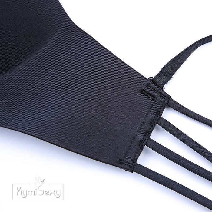 Áo ngực su khóa cài trước dây lưng mảnh