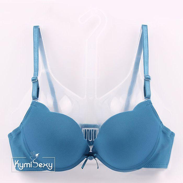 Áo ngực su nữ nâng ngực cổ chữ V