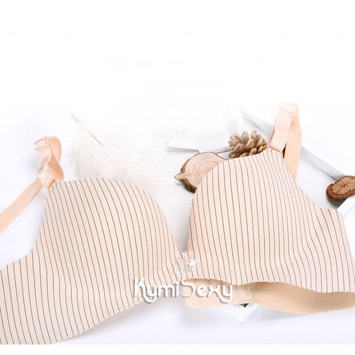 Áo ngực Su viền sọc đứng