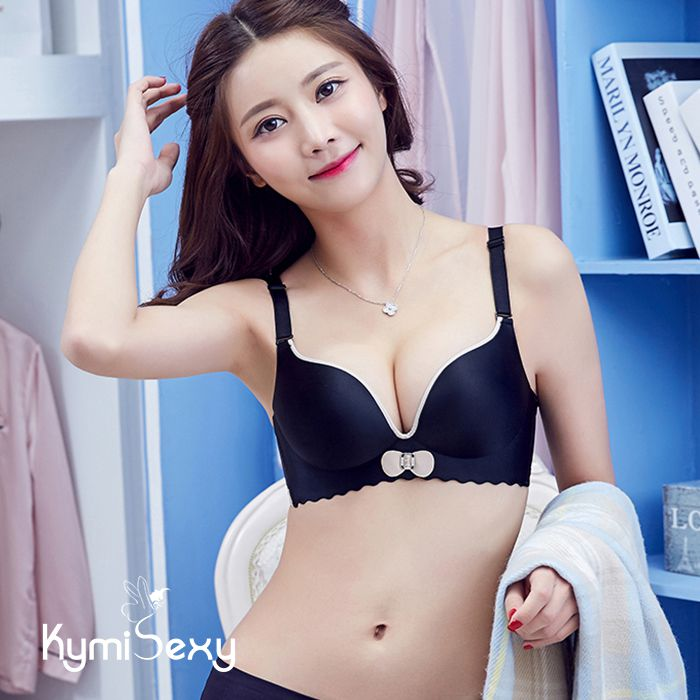 Áo su nâng ngực xẻ cổ chữ V