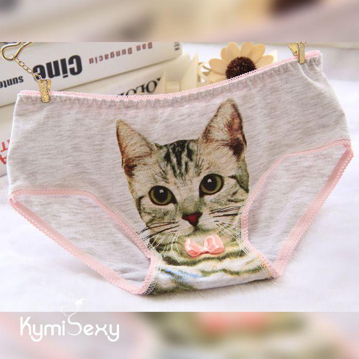 Quần lót nữ Cotton mặt mèo