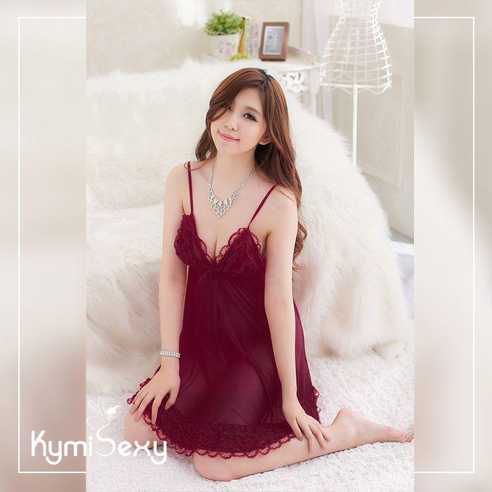 Váy ngủ dáng rộng quyến rũ