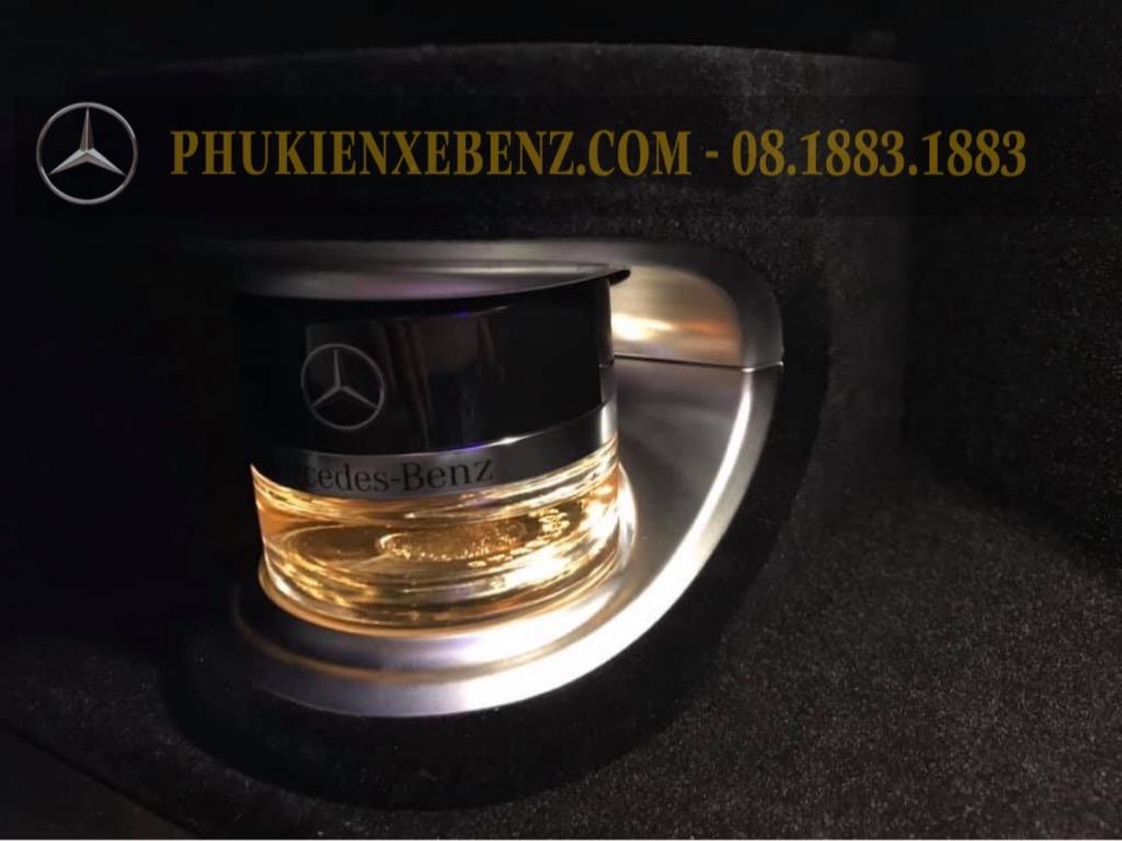 Nâng cấp hệ thống nước hoa và ion âm chính hãng của Mercedes Benz!