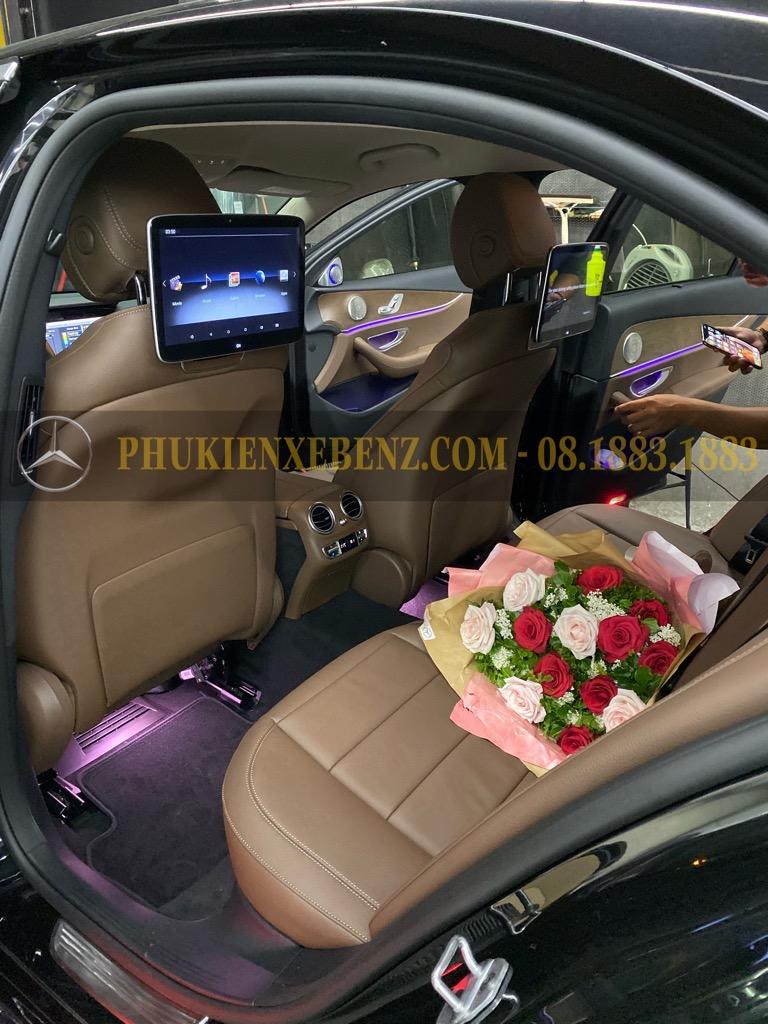 Nâng cấp màn hình ghế sau cho Mercedes Benz C,GLC,E,S......