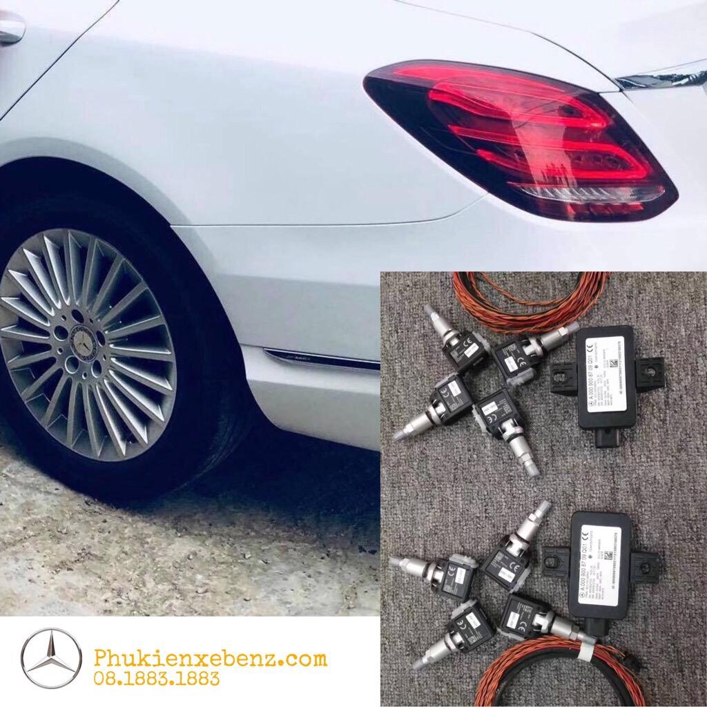 Nâng cấp cảm biến áp xuất lốp Mercedes Benz