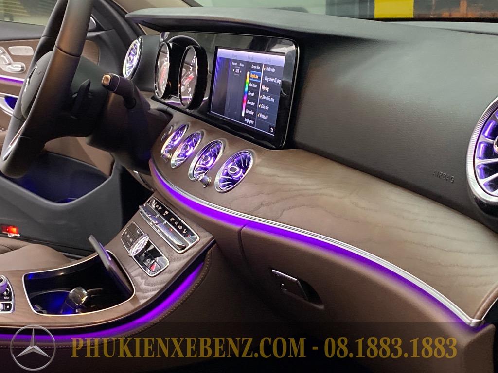 Nâng cấp cửa gió Turbin cho Mercedes Benz E class