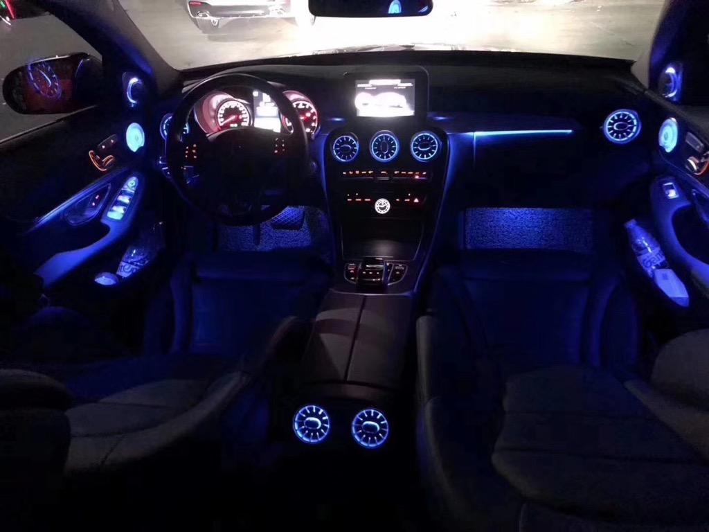Hệ thống đèn led nội thất 64 màu C,GLC
