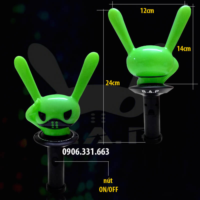 B.a.p lightstick version 2