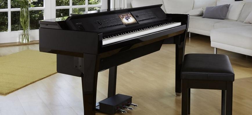 Dòng piano điện kết hợp Organ và Piano - Yamaha CVP