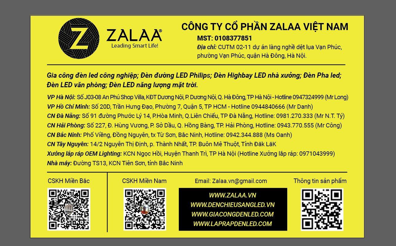 Thông tin liên hệ Công ty Cổ phần ZALAA Việt Nam