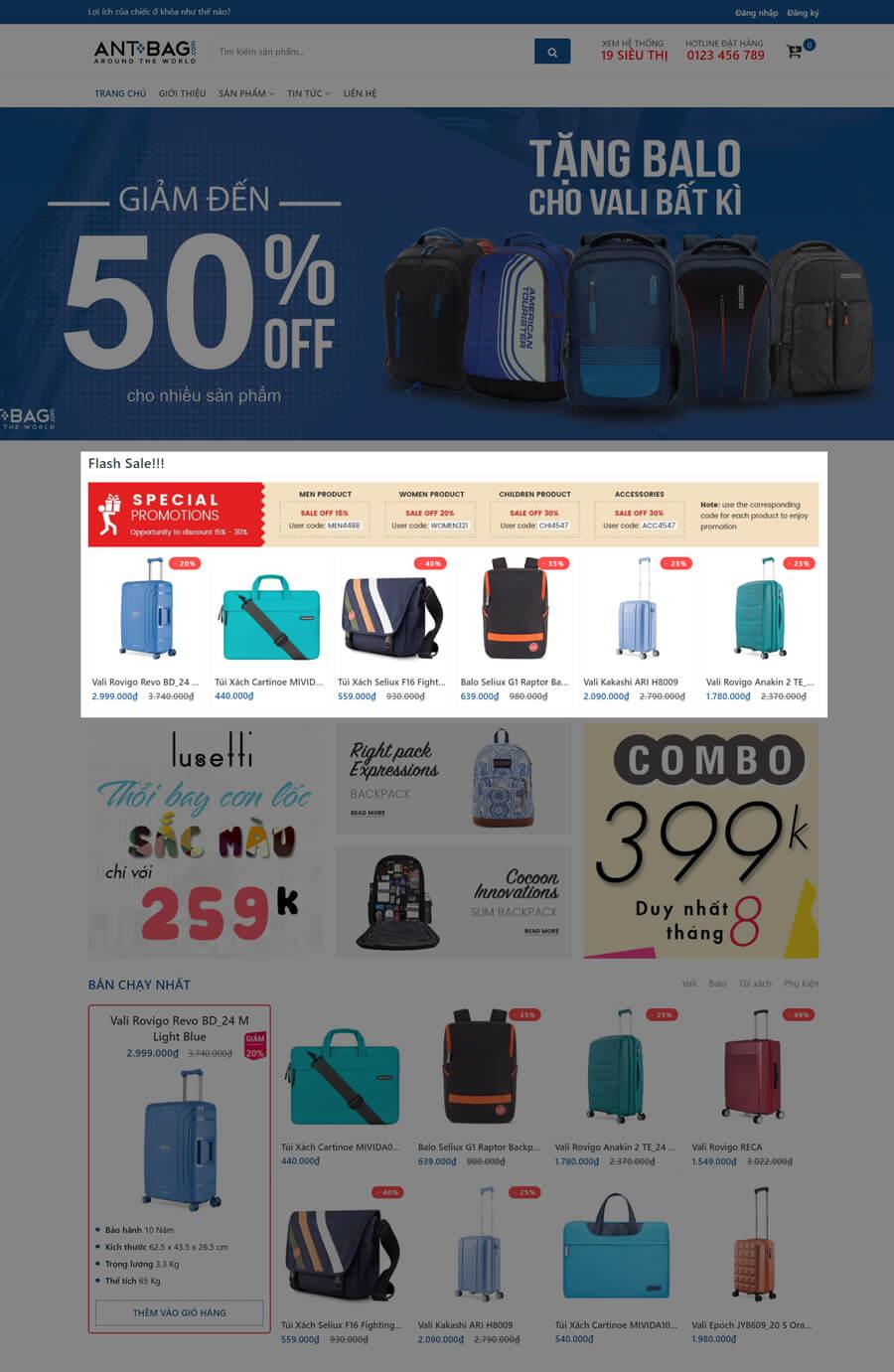 Sale Ant Bag