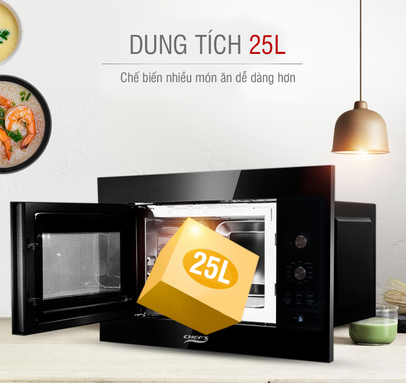 Lò vi sóng Chef's EH-MW801B 5