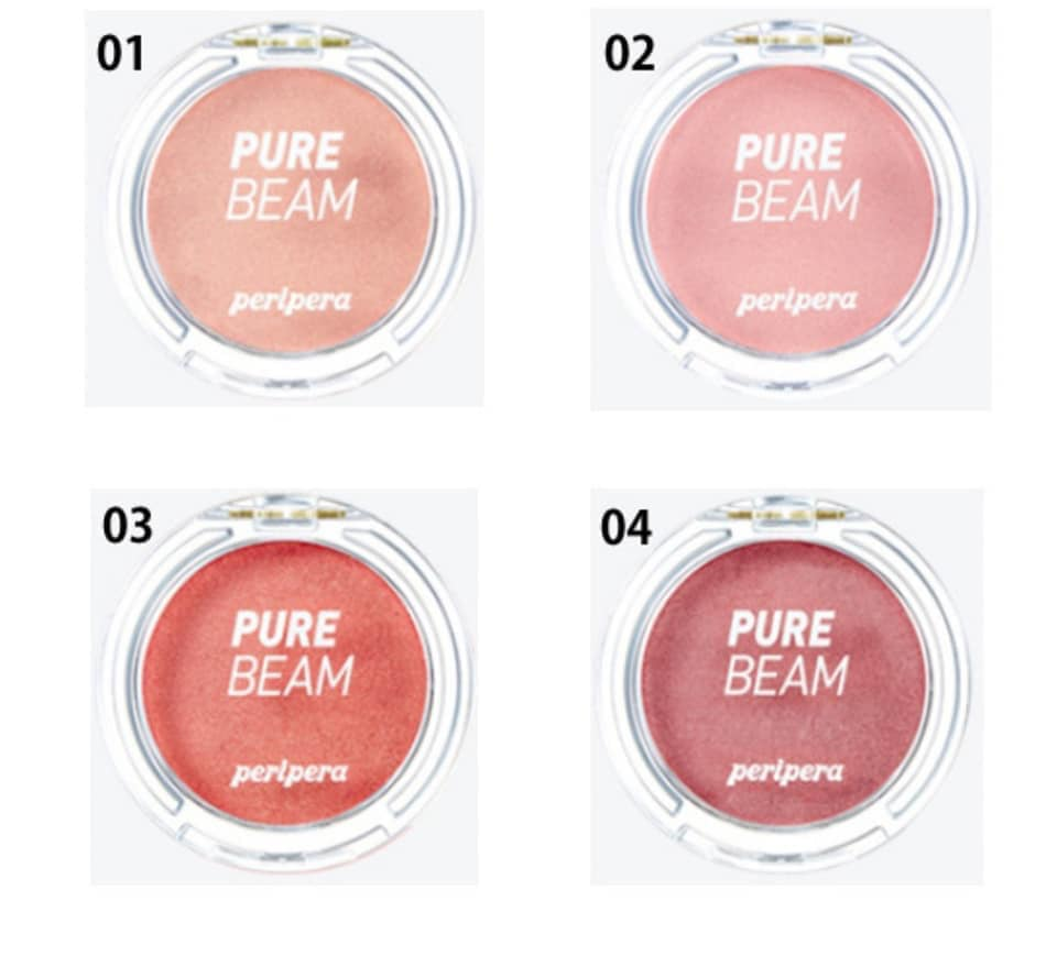 Phấn má hồng Peripera Pure Beam Flash Cheek