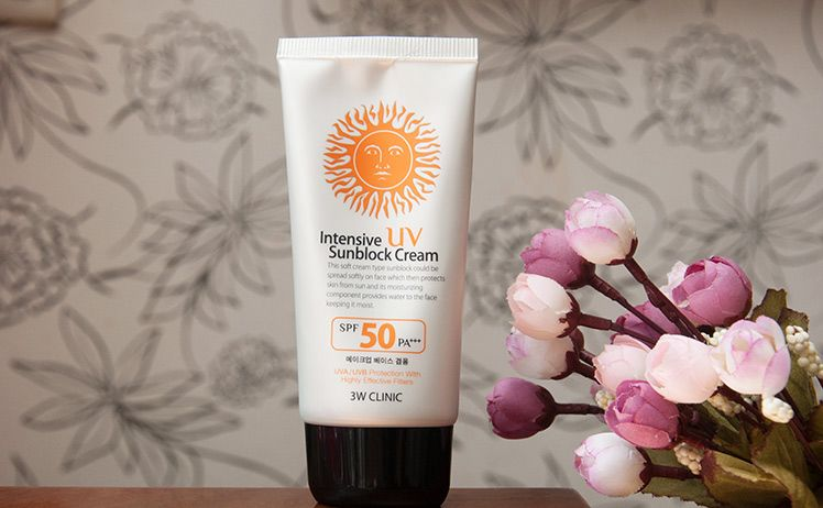 KCN 3W Clinic Intensive UV Sunblock