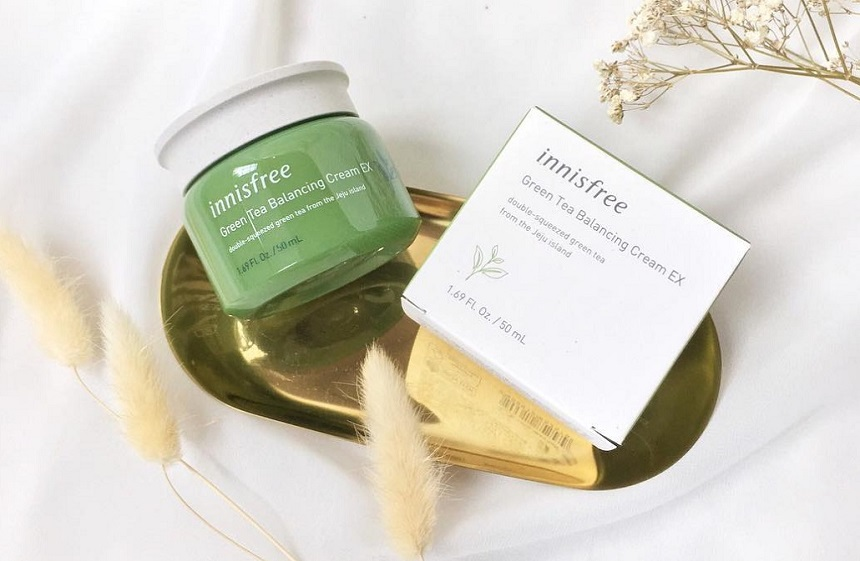 Kem Dưỡng Innisfree Green Tea Balancing Cream EX 50ml