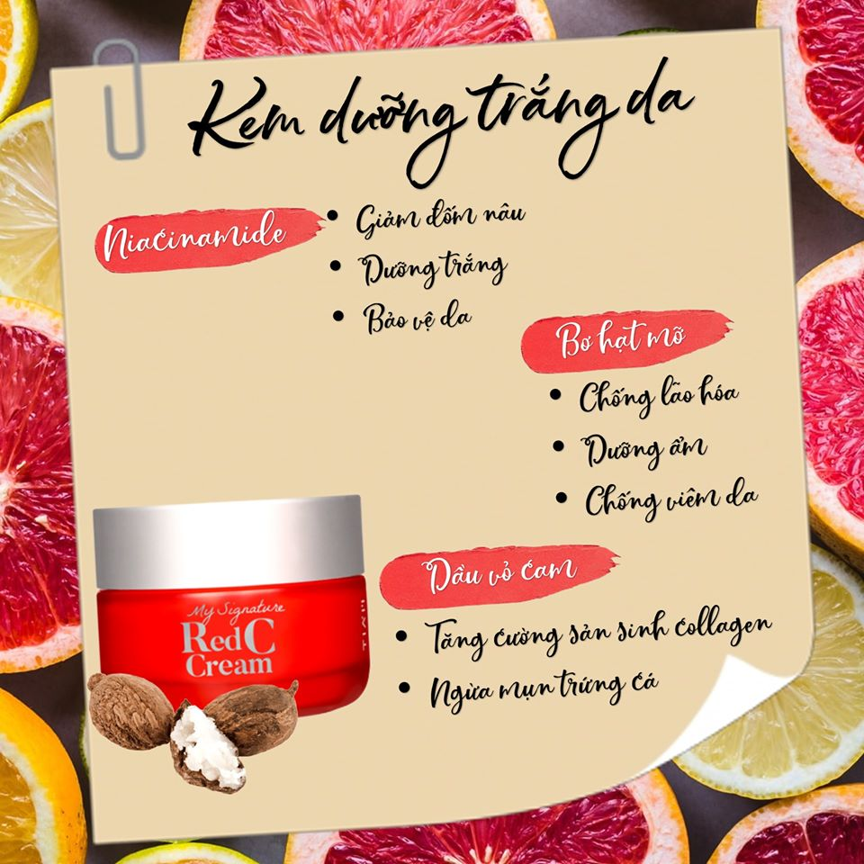 Kem Dưỡng Tiam My Signature Red C Cream 50ml