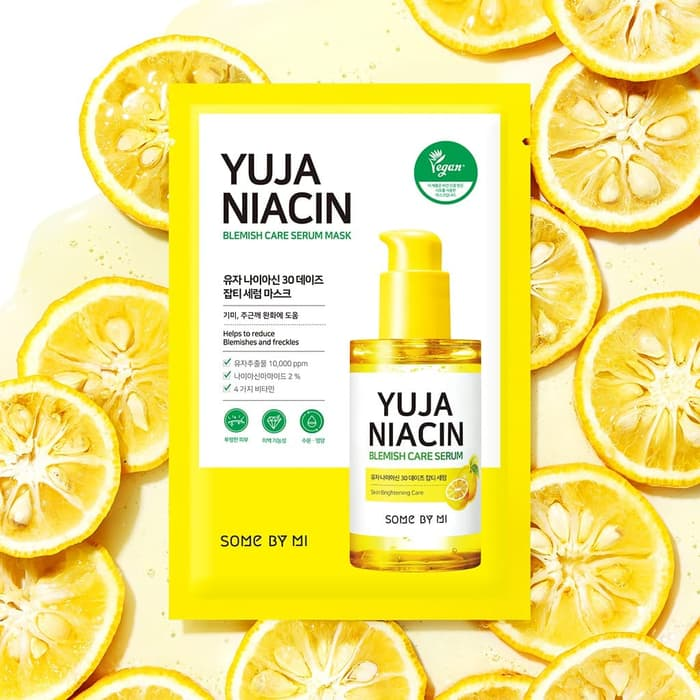 Mặt nạ giấy Some By Mi Yuja Niacin Blemish Care Serum Mask