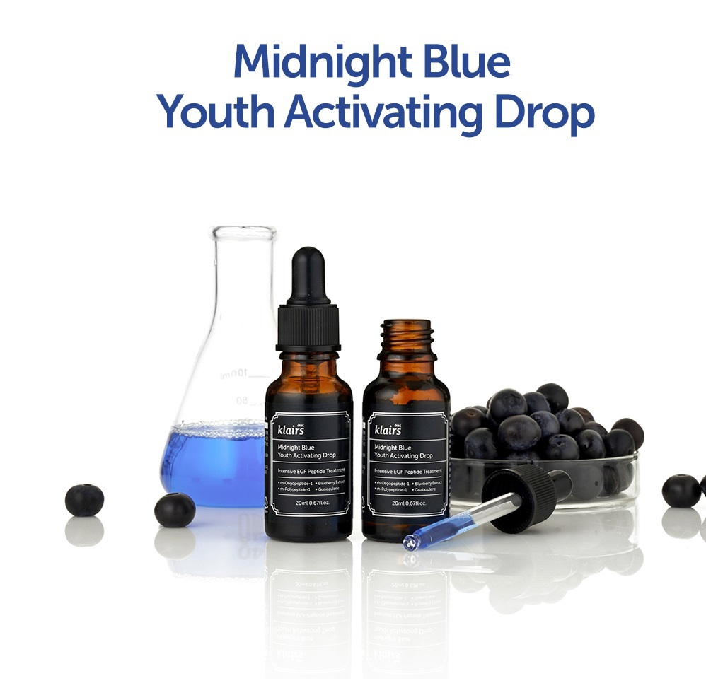 Serum Klairs Midnight Blue Youth Activating Drop 20ml