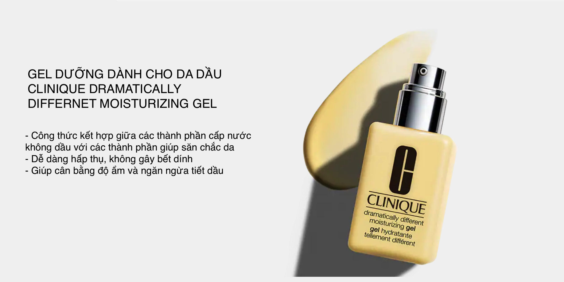 Gel Dưỡng Ẩm Clinique Dramatically Different Moisturizing 125ml